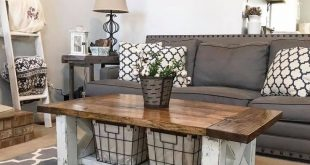 Chunky Farmhouse Coffee Table