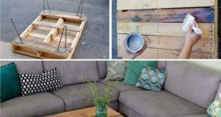 20 The Most Easiest DIY Pallet Furniture Tutorials That Everyone Can Make