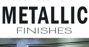 What To Know Before using Metallic Paint