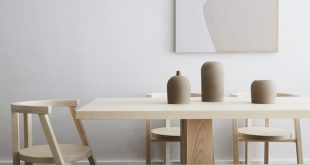 Minimalist Wood Furniture with Stylish Features