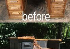 5+ Upcycled Bench Ideas - From Repurposed Furniture!