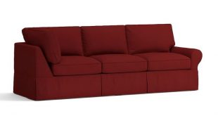 Build Your Own - PB Basic Slipcovered Sectional Components