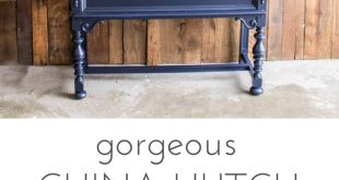 9 Painted Hutch Makeovers That Will Make You Pull Out Your Paint Brush!