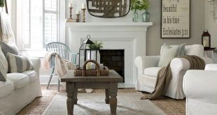 Comfy Farmhouse Living Room Designs To Steal (22