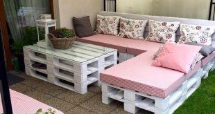 DIY wooden furniture and decor ideas. #decorideas #palletfurniture #diyideas