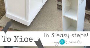 How to transform Laminate Furniture (My Love 2 Create)