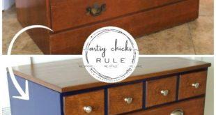 New Simple DIY Furniture Makeover and Transformation #furnituremakeover