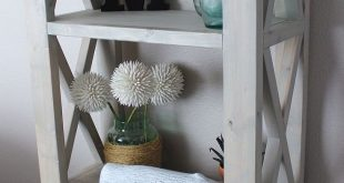 Rustic Triple X BookShelf   Do It Yourself Home Projects from Ana White They use...
