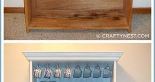 Tutorial - Wie man ein altes Bücherregal in einen schönen Porzellanschrank ver...